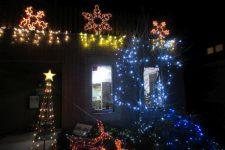 クリスマス前のさつきホーム